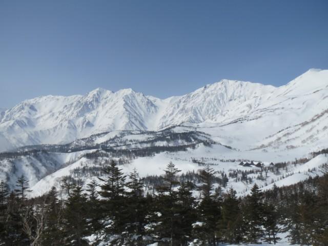 2月28日 西鵯から白馬三山