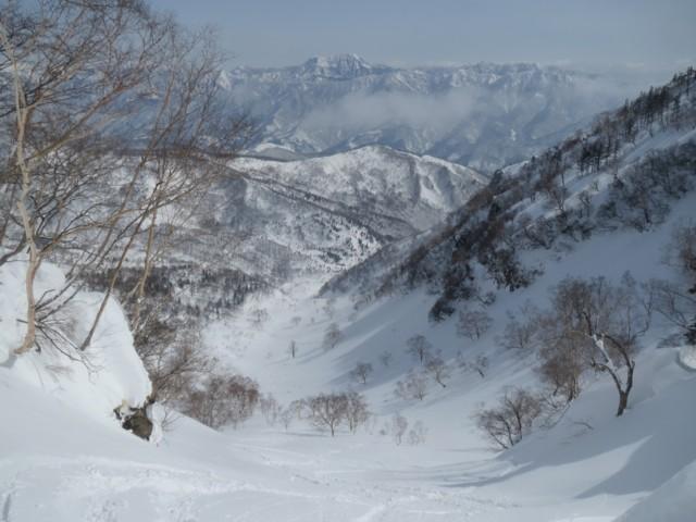 2月28日 鵯峰と西鵯のコル