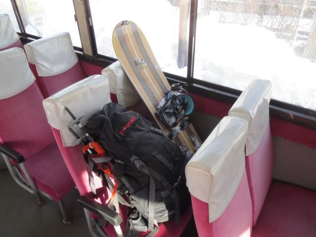 2月28日 南小谷から栂池までバス