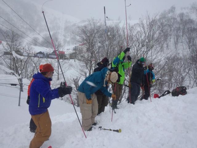 3月14日 プチ雪崩講習