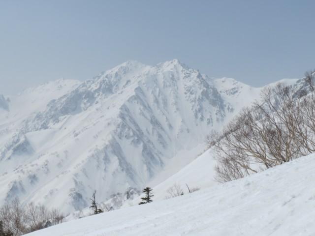 3月22日 杓子岳