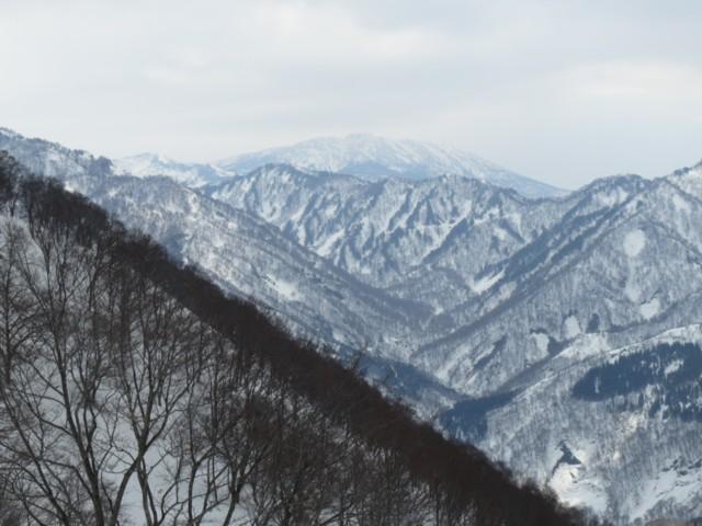 3月29日 妙高山まで直線13kmくらい