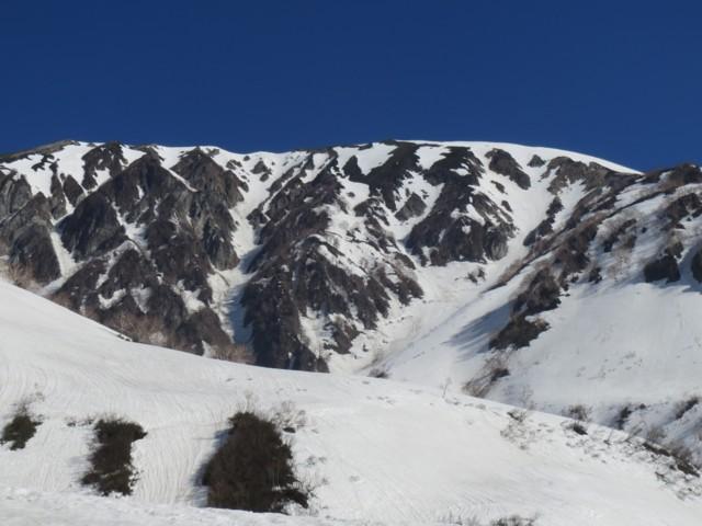 4月26日 大雪渓から小蓮華
