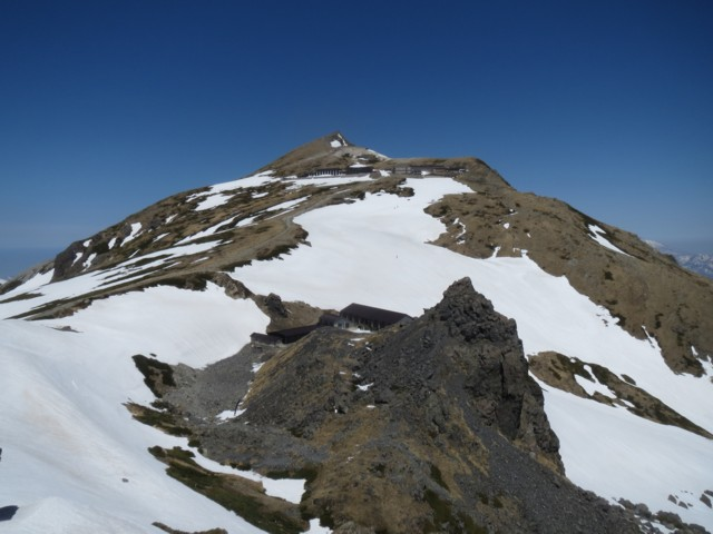 4月26日 白馬岳富山側