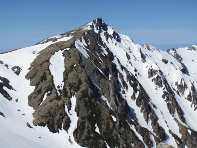 4月26日 杓子ピークから白馬岳