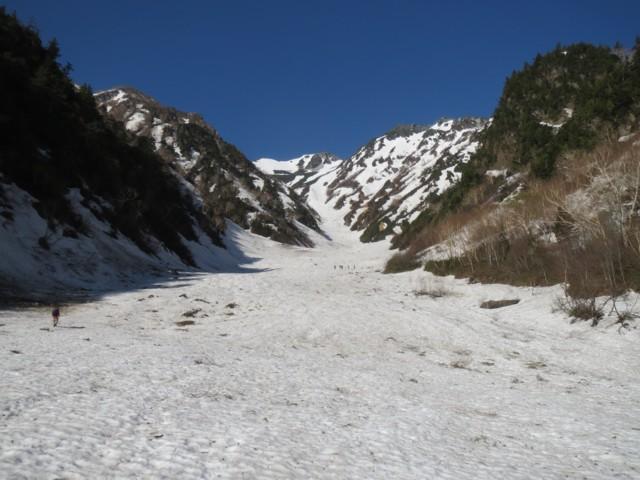 5月17日 針の木雪渓