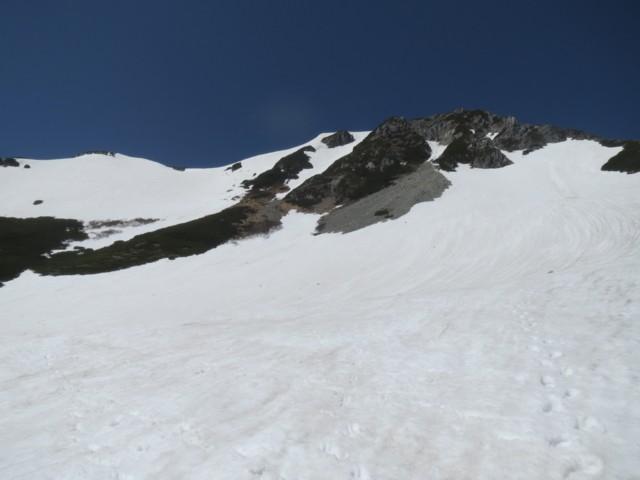 5月17日 針ノ木岳