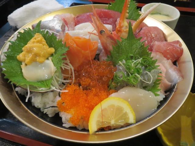 5月23日 魚啓で極上海鮮丼