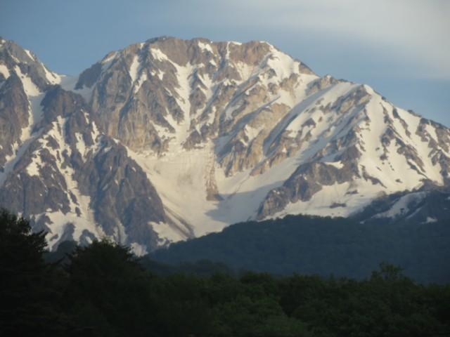 5月24日 杓子岳