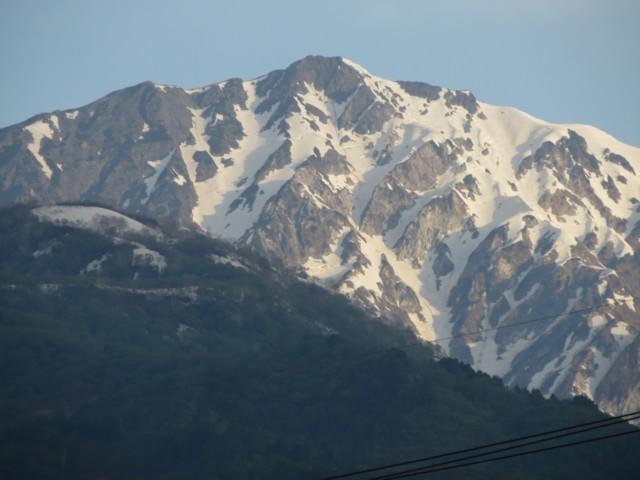 5月24日 白馬岳