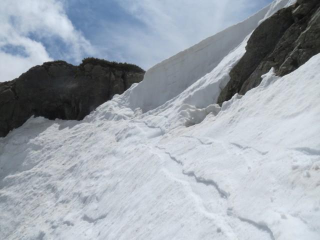 5月24日 2号雪渓DPエントリー