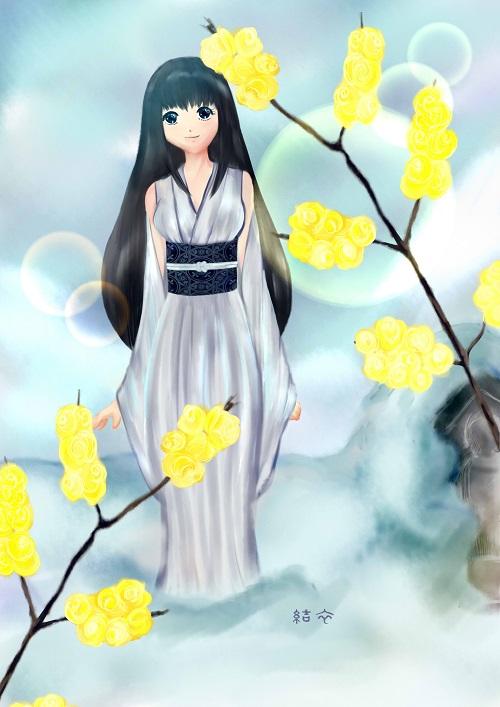 「冬、春間近」