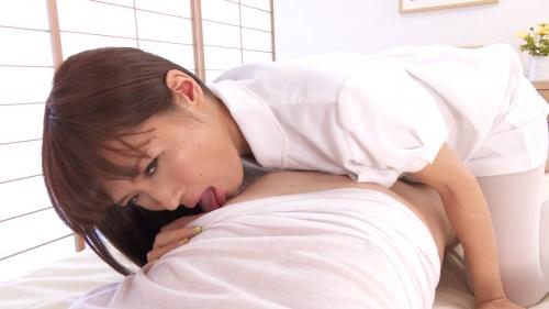 AV男優のセックスなテクで痙攣しながらイッちゃうドS看護師