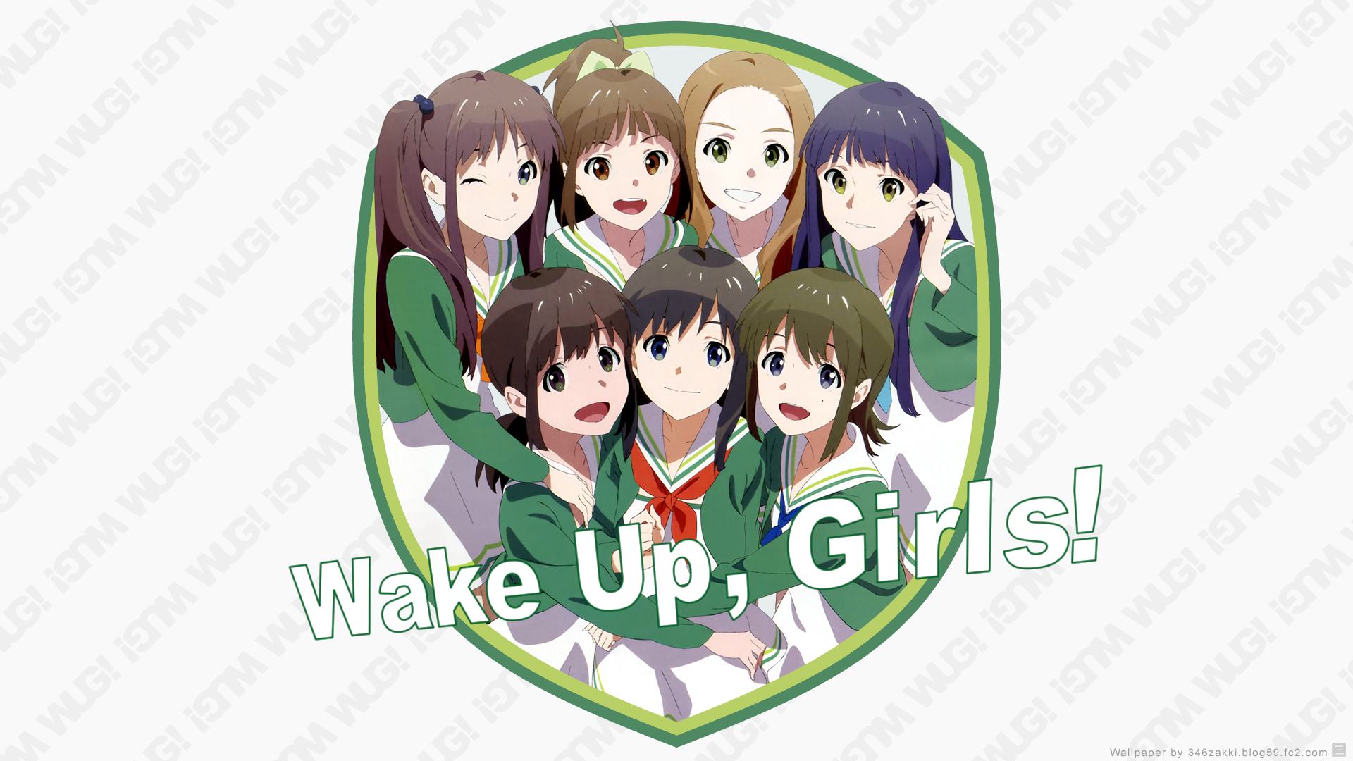 Wake Up Girls 自作壁紙 Wake Up Girls