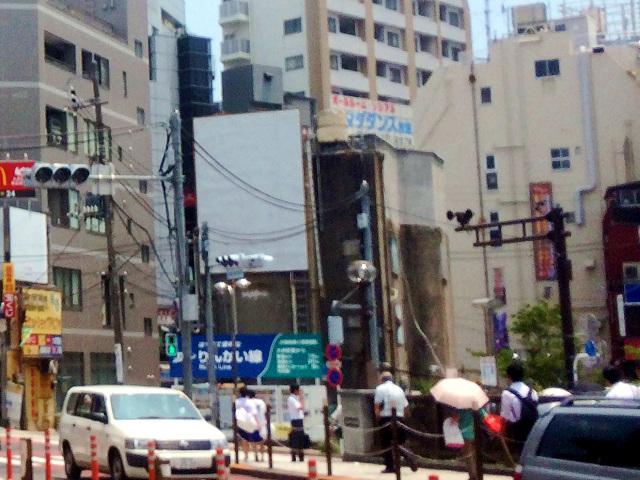 酷暑の大井町駅付近2015年7月 by占いとか魔術とか所蔵画像
