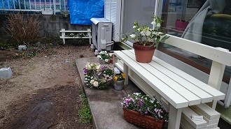 楽しい庭仕事ルンルン