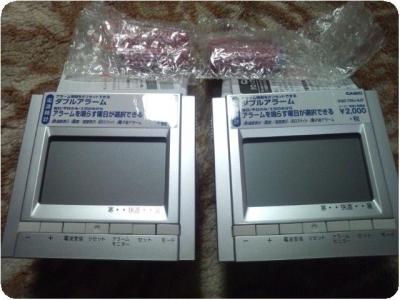 DQD-700J-8JFカシオ電波目覚まし時計3