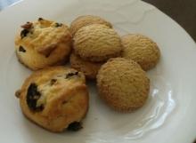 無印良品 紅茶クッキーとぶどうクッキー