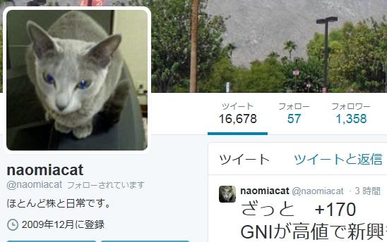 なおミーアキャットさんツイッター