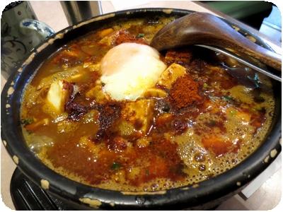 麻婆カレー麺