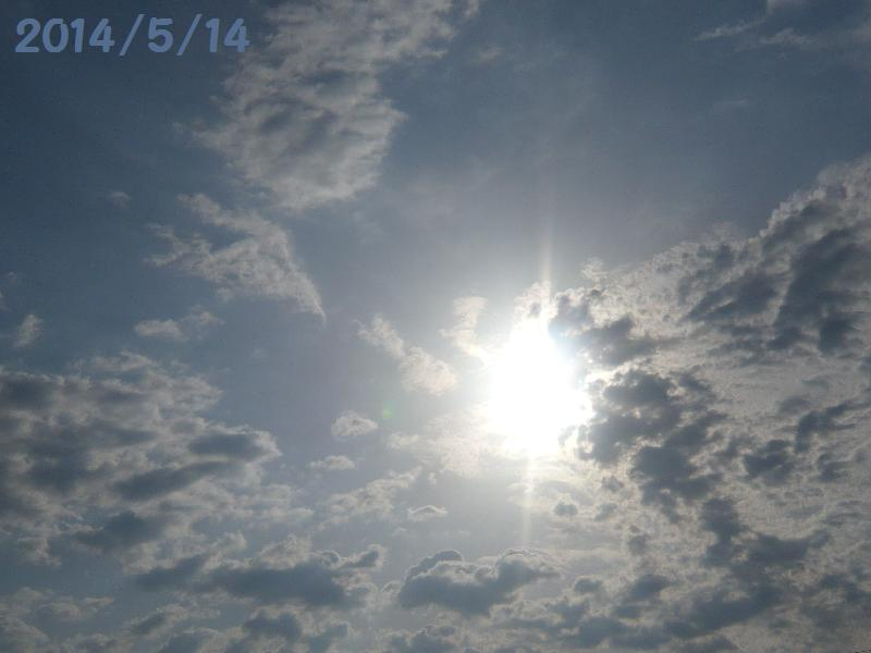 太陽5月14日