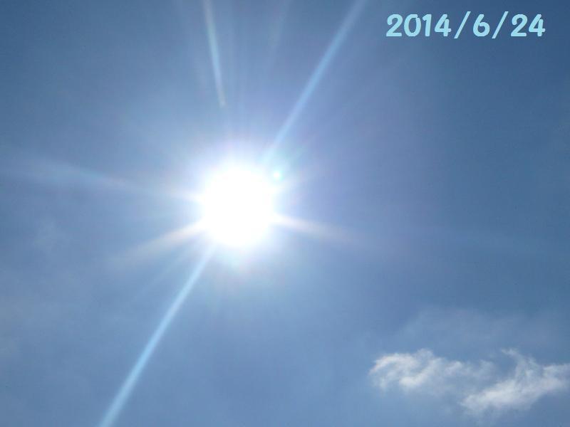 太陽6月24日