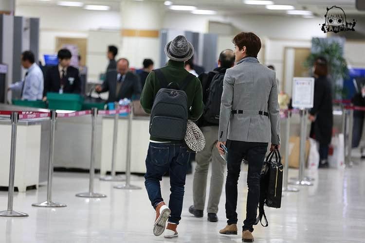 2015年3月12日 今日の金浦空港にて、日本に向かった こ