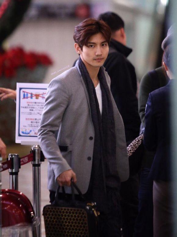 2015年3月12日 今日の金浦空港にて、日本に向かった2