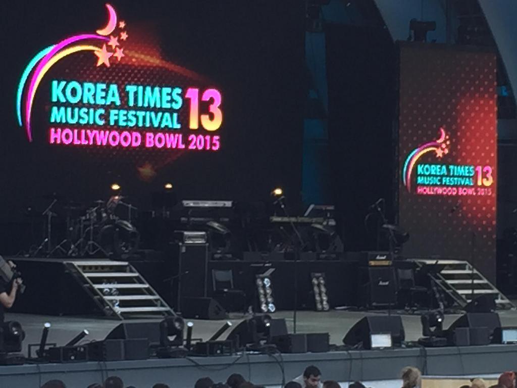LAでのKOREA TIMES MUSIC FESTIVAL