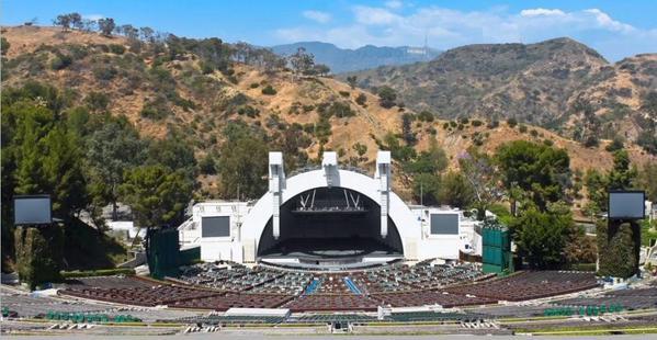 ハリウッド ボウル 米カリフォルニア州ハリウッドにある野外音楽堂