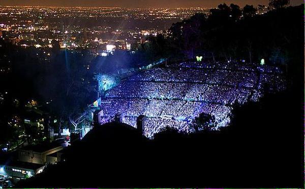ハリウッド ボウル 米カリフォルニア州ハリウッドにある野外音楽堂2