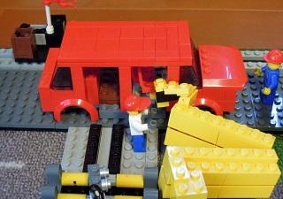 LEGO自動車工場6