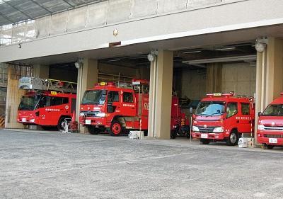 2014年末の横須賀中央消防署