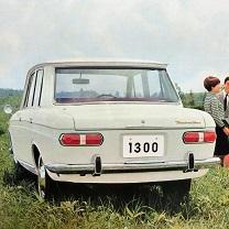 ブルーバード410後期型(リア)