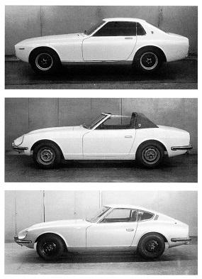240Zのクレイモデル案