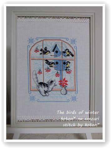 フリーチャート「The birds of winter」 完成