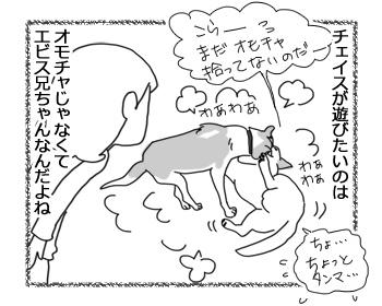 羊の国のラブラドール絵日記シニア!!「オモチャよりエビス」4