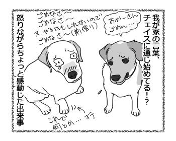 羊の国のラブラドール絵日記シニア!!「怒りながら感動」5