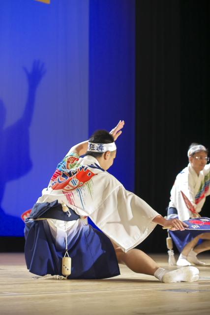 はな・はるフェスタ2015 阿波踊り 4月19日 あわぎんホール クローズアップ