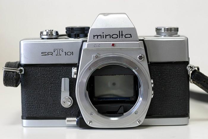 カメラ ミノルタ SRT-101