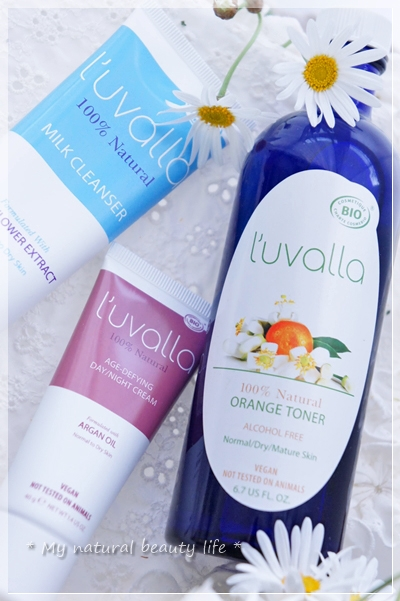 L'uvalla Certified Organic, Orange Toner