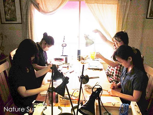 マクラメ編み教室 上級編