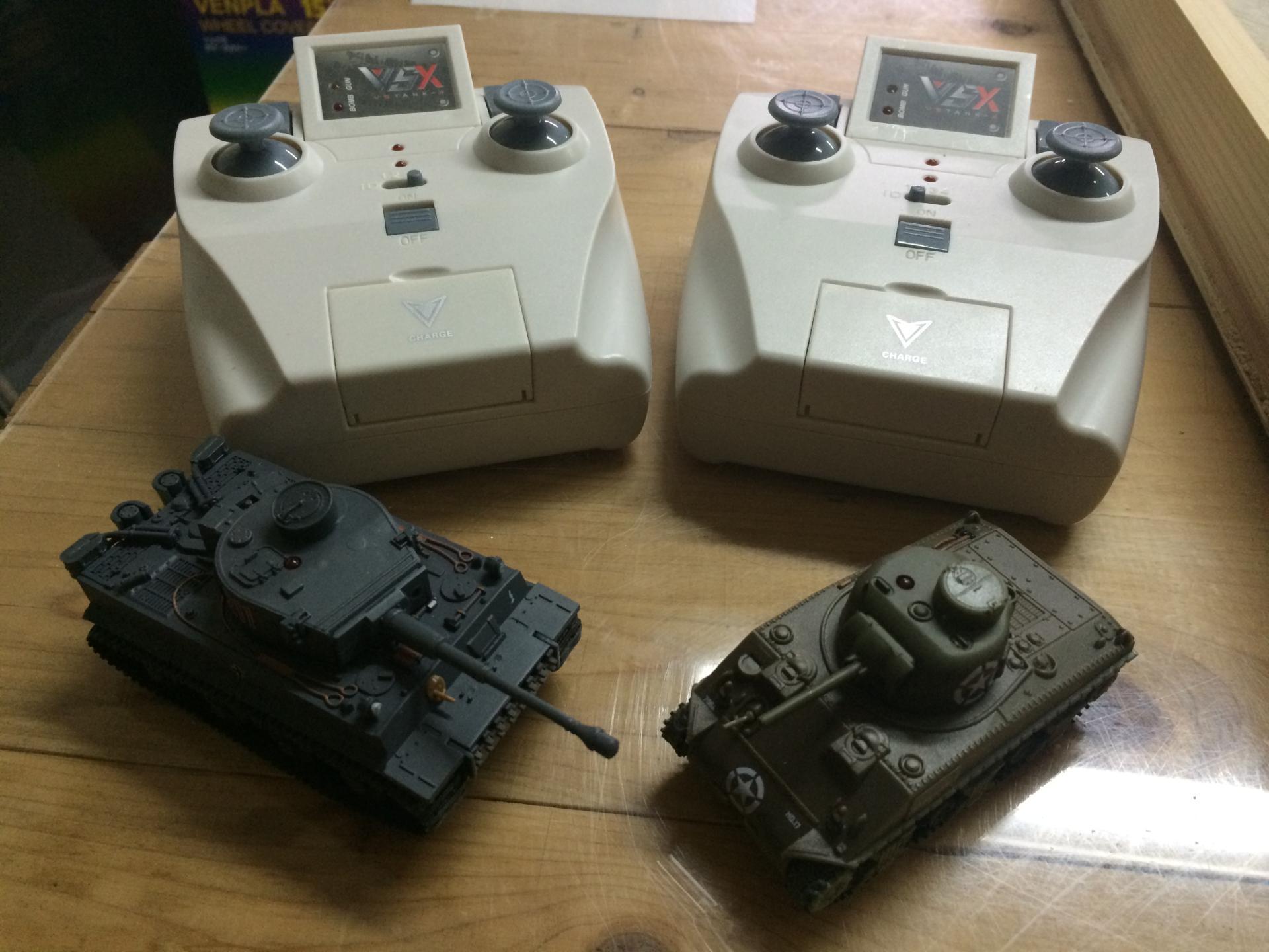 ラジコン 1/72 R/C VSタンク