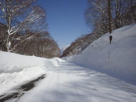 IMGP2127 道は圧雪