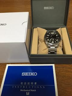 セイコー機械式腕時計 メカニカル SARG009