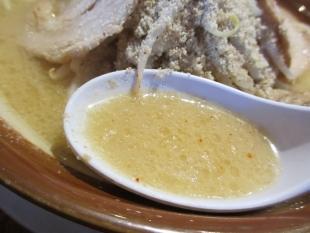 吉相女池店 味噌ラーメン スープ