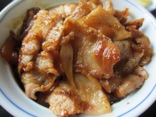三日月 サトイモ麺小丼セット 焼肉丼