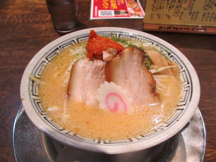 チャーシュウヤ武蔵アピタ亀田 カラシ味噌ラーメン