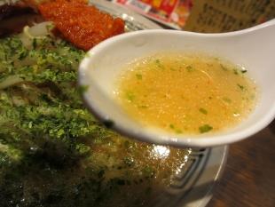 チャーシュウヤ武蔵アピタ亀田 カラシ味噌ラーメン スープ