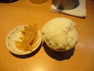 麺や力 サービスライス (2)
